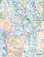 General Map of Tukwila
