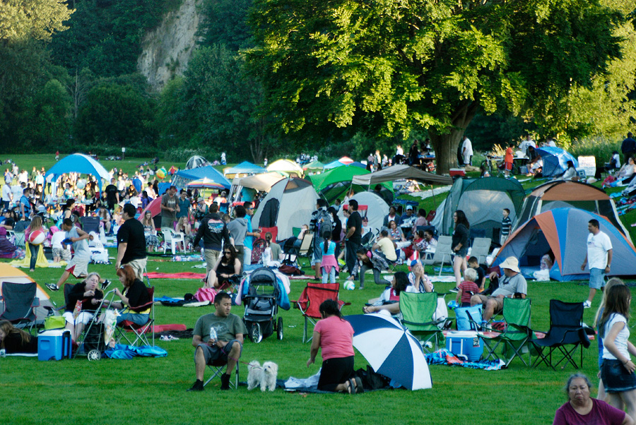 Fort Dent Park Tukwila Fourth of July
